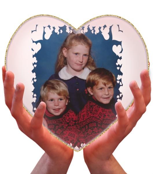 My heart in my hands
