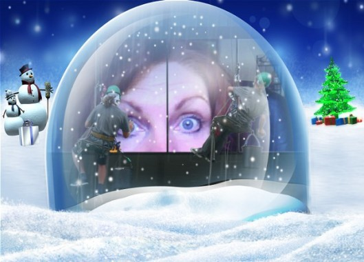 Merry Christmas from the Snow Dome Queen