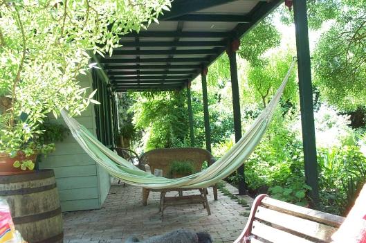 Restful front porch