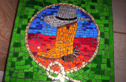 Cowboy Mosaic