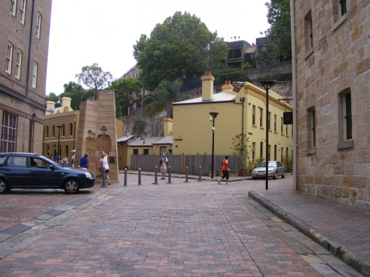In the Rocks area of Sydney