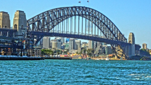The beautiful Sydney Harbour Bridge