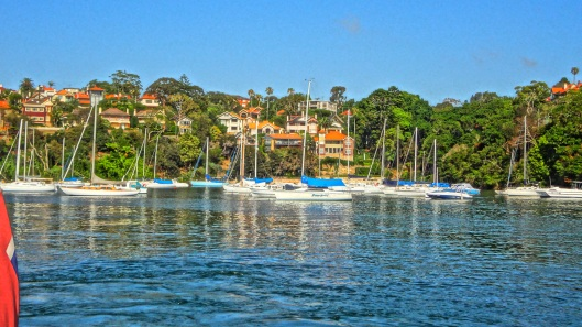 From the Mosman ferry