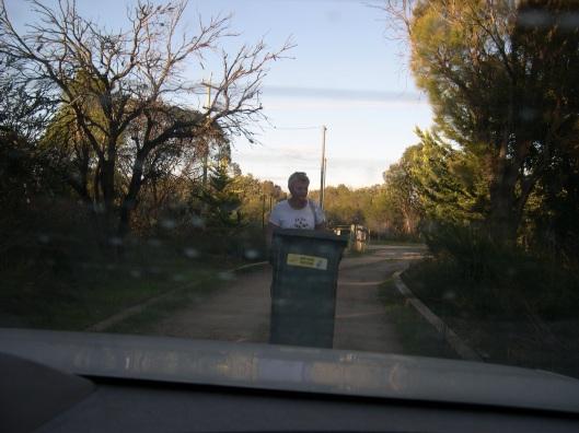 Babushka & the bin