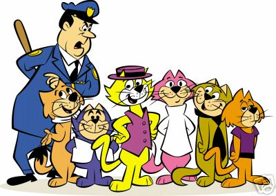 Top Cat & the gang