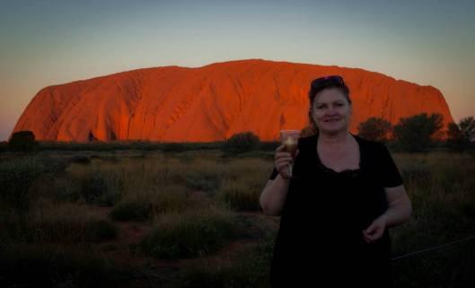 me at Uluru