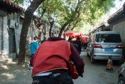 Our rickshaw driver