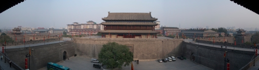 Panorama of Xi'an Wall