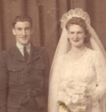 mum & dad wedding