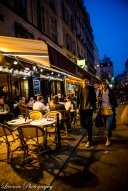 Night life in paris