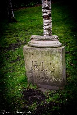 Robert Louis Stevenson - Edinburgh