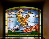 The Eagles Nest pub window