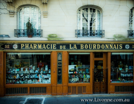 Pharmacie de la Bourdonnais - Week 1