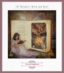 Anon to sudden silence won In fancy they pursue The dream child moving through the land Of wonders wild and new In friendly chat with bird or beast And half believe it's true Lewis Carroll - Through the Looking Glass