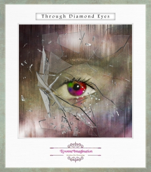 The story is just beginning. I say goodbye to my weakness, so long to my regret. And now I see the world through diamond eyes